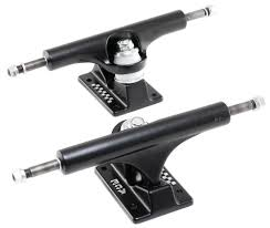 Ace 44 Black Skateboard Trucks - 5.5