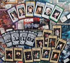 Clue World Of Harry Potter Gameboard And Character Cards The Big Game Hunter Permanent Collection