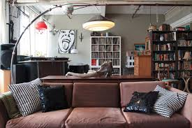 My Houzz Vintage finds in funky Montreal artists loft