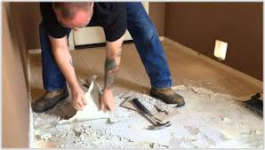 removing tile adhesive from concrete floor images tile flooring