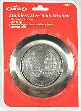 stainless steel sink strainer ebay
