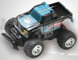 100 Monster Truck Remote Control RC 158 Radio MICRO RC BAJA RACER 4X2 W Suspension Blue