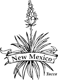 Images Of State Flowers Coloring Pages