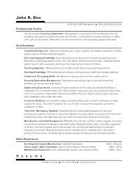 Childcare Resume Objectives Child Sample Care