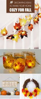 easy and cheap decorations 10 decorating ideas to make your home cozy for fall cozy