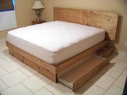 bed frame platform storage cool size for also s diy frame black