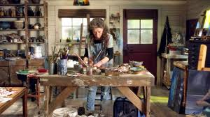 Woodworking Tv Shows On Netflix by Meet The Real Artist Behind Lily Tomlin U0027s Paintings On U0027grace And