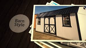 Tuff Shed Barn Deluxe by Hometown Sheds Portable Sheds Barns Man Caves Tiny Homes