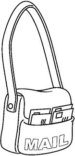 Mailbag Clipart