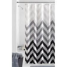 interdesign chevron shower curtain shower curtains walmart