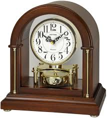 Bulova Table Clocks Wood by Rhythm Global Timepiece