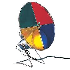 Rotating Color Wheel For Aluminum Christmas Tree by Amazon Com Kurt Adler Early Years Revolving Color Wheel Red Blue