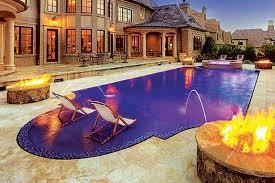 glass tile swimming pool designs luxury pools