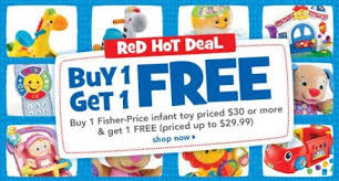 Toysrus Red One Day Only by Toys R Us Labor Day Sale Bogo Fisher Price Up To 50 Off