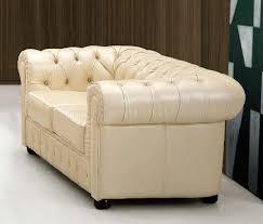 Formal Living Room Furniture Images by Beige Genuine Tufted Leather Formal Living Room Sofa