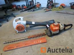stihl bg 86 leaves blower stihl hs 81 r hedge trimmer