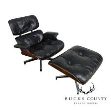 Herman Miller 1960's Eames Black Leather And Rosewood Lounge Chair ... Vitra Eames Lounge Chair Charles Herman Miller Walnut Evans Lcw By And Ray Rosewood Ottoman Palm Beach And For For Sale At 1stdibs 670 Retro Obsessions Vintage Office Designs In Black Leather Rare White By A