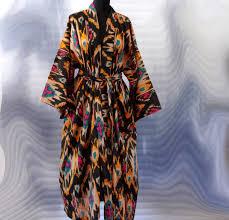 kimono robe de chambre femme peignoir kimono femme viviane boutique