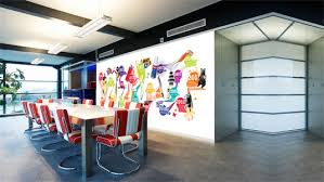 Our Gallery Of Cozy Design Office Walls Creative Corporate Wall Art