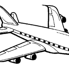 Airplane Coloring Page Bestofcoloring