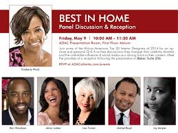 ADAC Hosts Top African American Interior Designers On Panel Home Designers Shoisecom Custom Builders And Melandra Homes Sydney Nsw Floor Plan Garage Best New House Plans Websites Designer Paint Decoration Gallery Bgwebsnet American With Photos Beautiful Design Pictures Decorating Ideas Fashion At Cool Hunting Inspiring Style Kerala Designs 11 On Trends With Luxury Fniture Of Black Kaleidoscope Interior Room Awesome Log Cabin Small Designlog Ideaslog