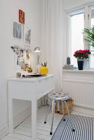 Home Designs: Small Work Niche Decor - Swedish White Heirloom ... Swedish Interior Design Officialkodcom Home Designs Hall Used As Study Modern Family Ideas About White Industrial Minimal Inspiration Kitchen And Living Room With Double Doors To The Bedroom Can I Live Here Room Next To The And Interiors Unique Decorate With Gallery Best 25 Home Ideas On Pinterest Kitchen