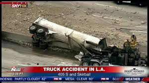 TRUCK ACCIDENT: Multiple Injuries Reported After Wreck On 405 ... Los Angeles Motorcycle Accident Attorney Citywide Law Group Aggressive Driving Causes Big Rig Hesperia Ca Multicar Crash Occurs On 15 Freeway At Highway 395 Two 21 Year Old Men In A Bmw Involved Dui Injury Traffic Semi Crash Abc7com Dump Truck Lawyer Free Case Review Call 247 2 Officers Injured After La School Police Car Collides With David Azi Accidents East Attorneys Personal Lawyers Semitruck Firm Karlin
