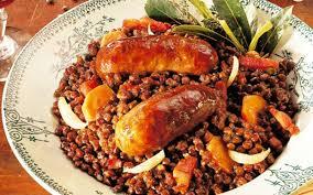 cuisiner des saucisses fum馥s recette lentilles aux saucisses fumées pas chère et facile cuisine