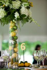 Fruit Accents I Love The Tall Vase With Lemons And Limes