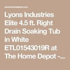Home Depot 54x27 Bathtub by American Bath 54