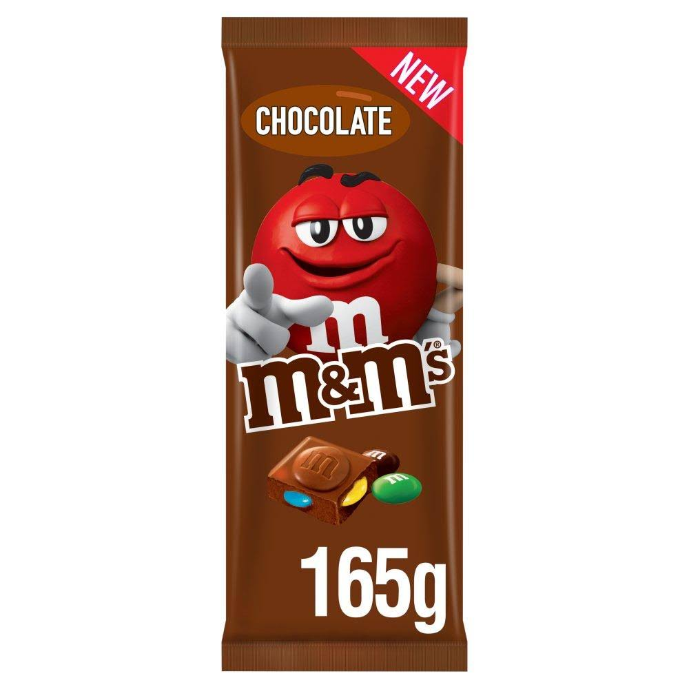 M&M's Block Chocolate 165g