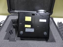 dell 4320 dlp digital projector pelican padded hard case 1550 ebay