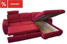 ecksofa mit schlaffunktion und bettkasten günstig im sofadepot
