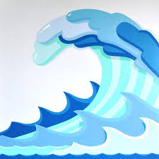 Tidal wave clip art
