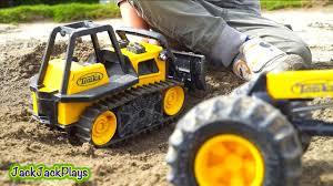 100 Big Toy Trucks Construction Working Bulldozer Digging Tonka