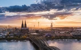 100 Water Bridge Germany Architecture Building Sunset