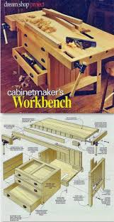 Sewing Cabinet Woodworking Plans by 564 Best Work Benches And Tool Storage Images On Pinterest