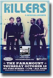 Wiki Smashing Pumpkins Rotten Apples by The Killers Poster Concert Sam U0027s Town Tour Brandon Flowers 9 84