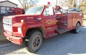 100 Brush Fire Truck 1984 Ford F700 Brush Fire Truck Item DA2107 SOLD Decemb