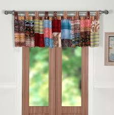 Amazon Swag Kitchen Curtains by Amazon Com Greenland Home Blooming Prairie Window Valance Home