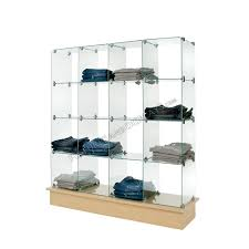 Glass And Wire Cubby Units