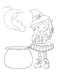 Free Witch Coloring Pages Printable Page Projects