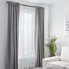 teresia gardinenstore paar weiß 145x300 cm ikea