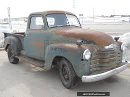 1951 Chevy Pickup Truck 1 / 2 Ton Short Box Farm Barn Find Patina ...