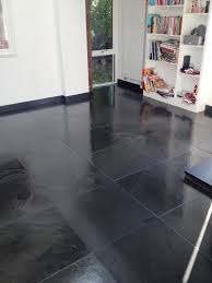 Grouting Floor Tiles Tips by Changing The Colour Of Grout On A Slate Tiled Floor Grout Protection