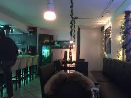 bild bar theke früh am abend zu maré café cocktailbar in