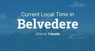 100 Belvedere Canada Current Local Time In Alberta