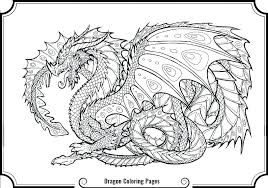 Really Cool Dragon Coloring Pages Cartoon Printable