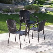 Coral Coast Berea Outdoor Wicker Stackable Chairs - Set Of 4 ... Gdf Studio Dorside Outdoor Wicker Armless Stack Chairs With Alinum Frame Dover Armed Stacking With Set Of 4 Palm Harbor Stackable White All Weather Patio Chair Bay Island Noble House Multibrown Ding 2pack Plowhearth Bistro Two 30 Arm Brown 51 Bfm Seating Ms11cbbbl Gray Rattan Inoutdoor Restaurant Of Red By Crosley Fniture