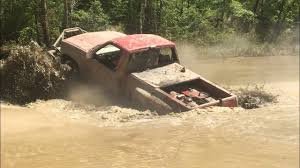 BIG MUD TRUCKS CROSSING A RIVER!!! - YouTube